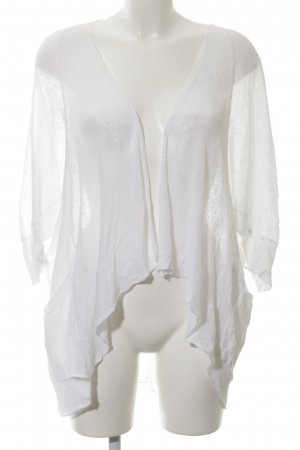 Stefanel Cardigan white casual look