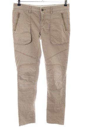 Stefanel Pantalone cargo marrone stile casual