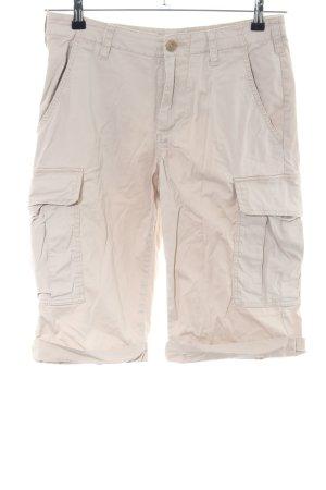 Stefanel Pantalone cargo bianco sporco stile casual