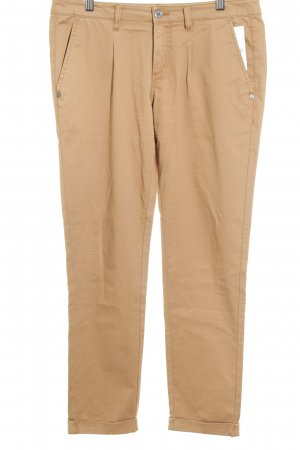 Stefanel Chinohose beige Casual-Look