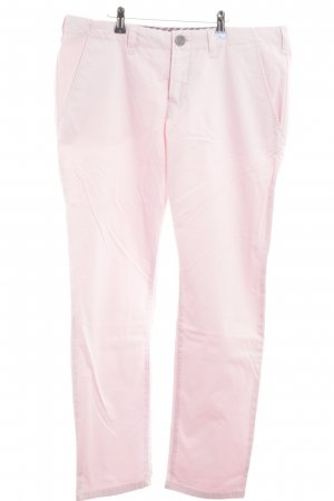 Stefanel Chinohose pink Casual-Look