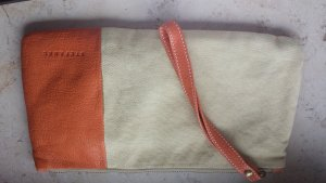 Stefanel, Cluch, orange-beige