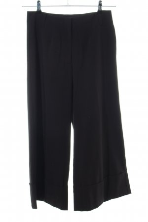 Stefanel Culottes schwarz Business-Look