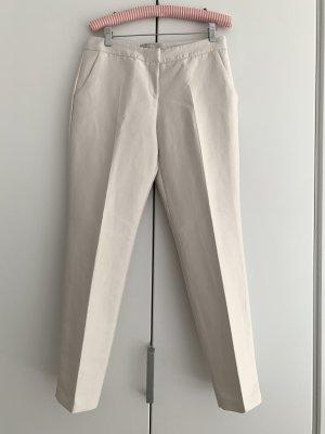 Stefanel Pantalon 7/8 blanc cassé