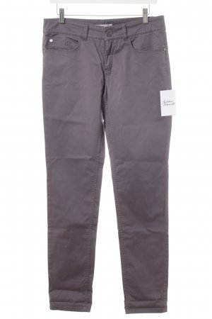 Stefanel Five-Pocket-Hose grauviolett Casual-Look