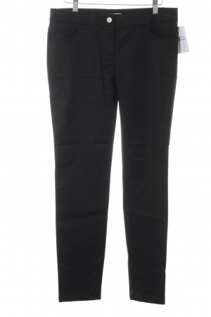Stefanel Five-Pocket-Hose schwarz Casual-Look