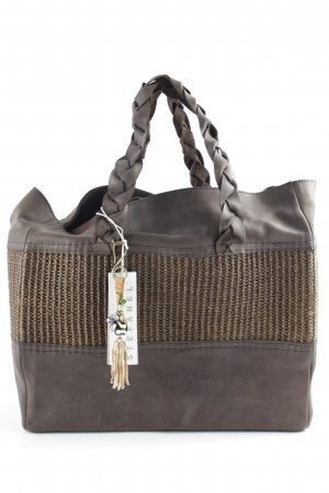 Stefanel Carry Bag brown-light brown Boho look