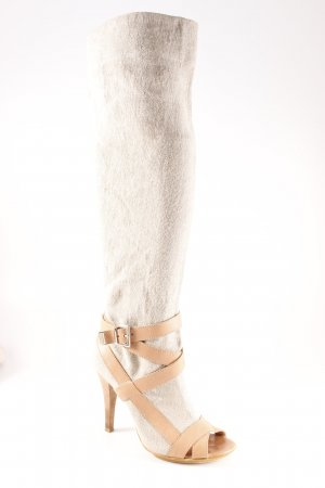 Stefanel High Heel Stiefel mehrfarbig Casual-Look