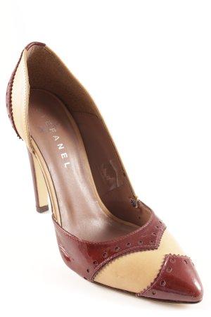 Stefanel High Heels braun-sandbraun Business-Look