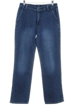 Stefanel High Waist Jeans dunkelblau Casual-Look