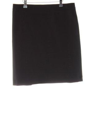 Stefanel Jupe taille haute noir style d'affaires