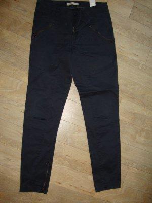 Stefanel Hose 100% Original Gr. 34 dunkelblau wenig getragen TOP ZUSTAND