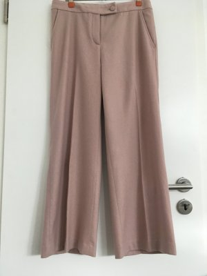 Stefanel Hose Culotte Gr. 38 Wolle Kaschmir Rose TOP STYLISH Herbst/Winter 2019 wie NEU
