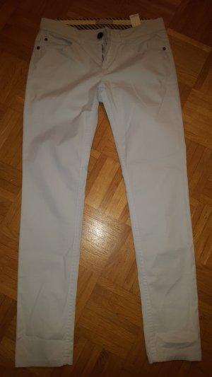Stefanel Pantalone cinque tasche azzurro Cotone