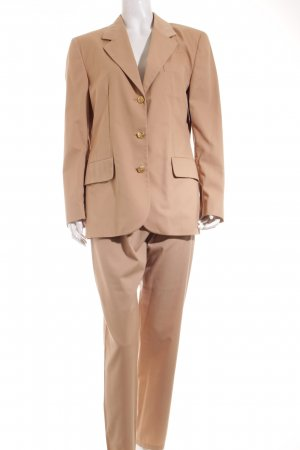Stefanel Hosenanzug camel Business-Look