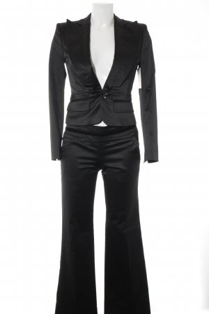 Stefanel Tailleur-pantalon noir style d'affaires