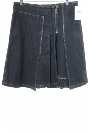 Stefanel Jeans Spijkerrok donkerblauw Jeans-look