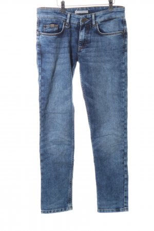 Stefanel Jeans Slim jeans blauw casual uitstraling