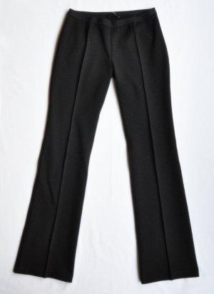 Stefanel Pantalón deportivo negro Viscosa