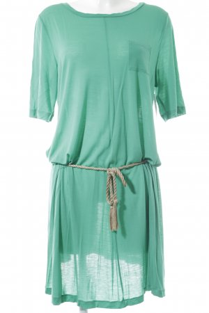 Stefanel Jerseykleid grün Casual-Look