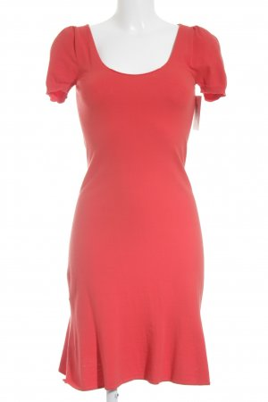 Stefanel Jerseykleid lachs Party-Look