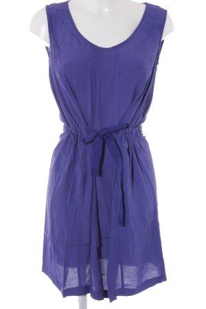 Stefanel Jerseykleid stahlblau Street-Fashion-Look