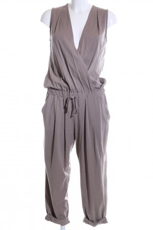 Stefanel Jumpsuit wollweiß Casual-Look