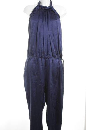 Stefanel Combinaison bleu violet élégant