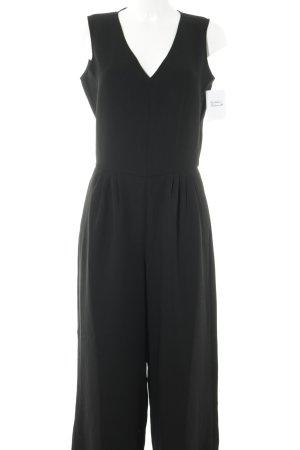 Stefanel Jumpsuit schwarz Elegant