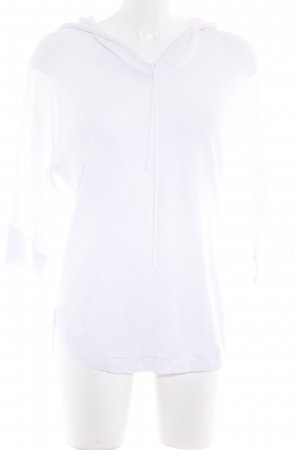 Stefanel Hooded Shirt white casual look