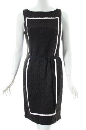 Stefanel Kleid schwarz-weiß klassischer Stil