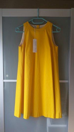 Stefanel Kleid Sonnenblumengelb