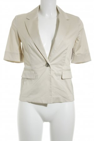 Stefanel Kurz-Blazer beige Business-Look