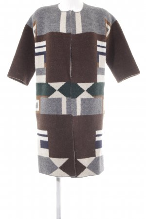 Stefanel Short Coat graphic pattern casual look