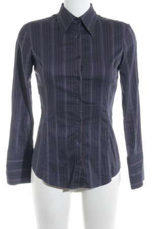 Stefanel Langarm-Bluse Streifenmuster Casual-Look
