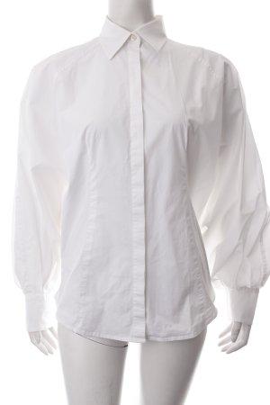 Stefanel Langarm-Bluse weiß