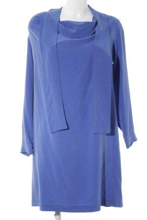 Stefanel Langarmkleid blau Casual-Look