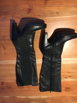 Stefanel Lederstiefel - kniehoch - mit Absatz - Größe 37 - sehr guter Zustand