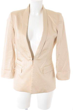 Stefanel Long-Blazer nude-rosé Business-Look
