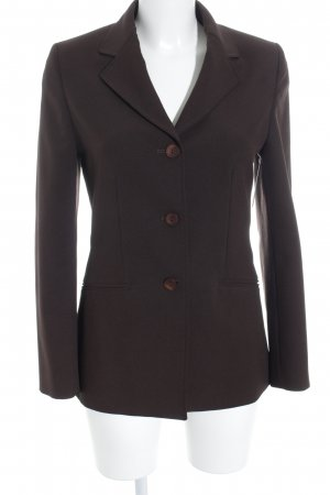 Stefanel Long Blazer black brown business style