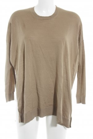 Stefanel Longpullover camel Casual-Look