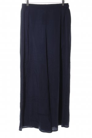 Stefanel Marlene Trousers dark blue simple style