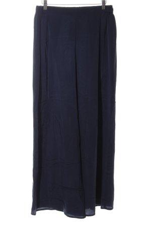 Stefanel Pantalone Marlene blu scuro stile semplice