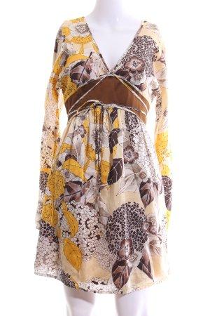 Stefanel Minikleid abstraktes Muster Casual-Look