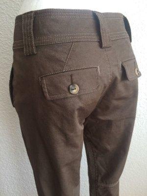 Stefanel NEW Sarouel-Hose Chino-Hose Harem-Style Trendy look Modisch Tapered Leg