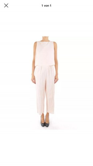 Stefanel Overall Jumpsuit nude rosa Top Einteiler Blogger Ibiza