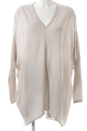 Stefanel Oversized Pullover altrosa Street-Fashion-Look
