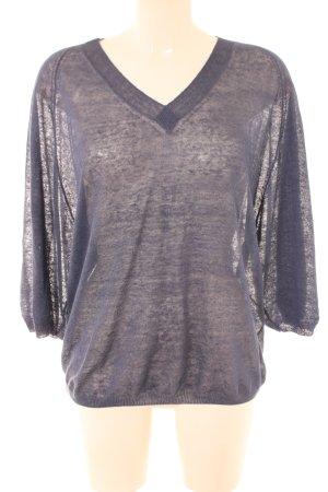 Stefanel Oversized Shirt blau Casual-Look