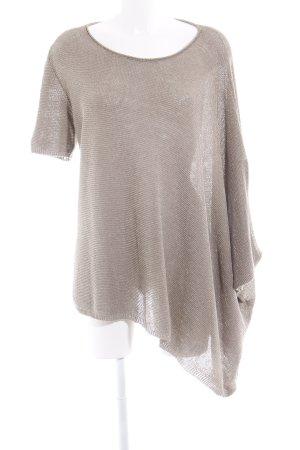 Stefanel Oversized shirt brons glitter-achtig