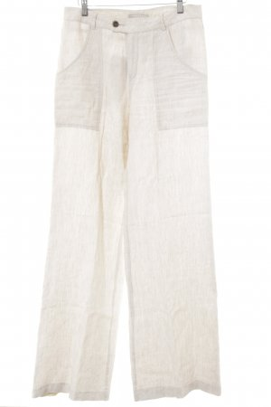 Stefanel Pallazzohose creme Casual-Look